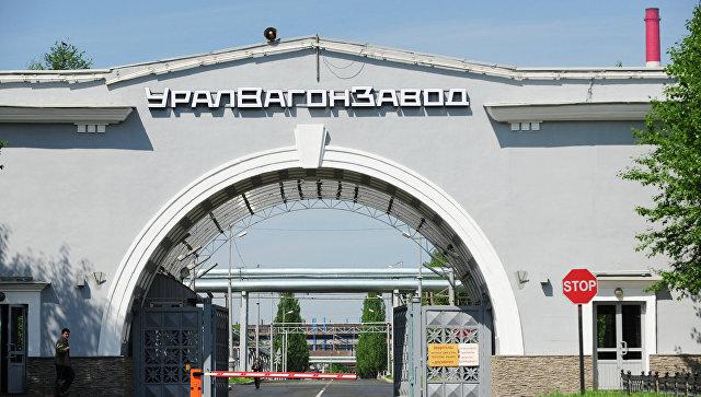 Игорь Холманских на Уралвагонзаводе в Нижнем Тагиле. Архивное фото