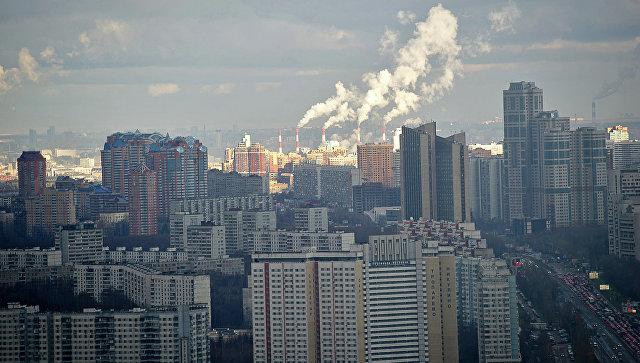 Жилой микрорайон новой Москвы. Архивное фото