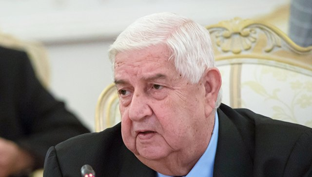 Министр иностранных дел и по делам эмигрантов Сирийской Арабской Республики Валид Муаллем. Архивное фото