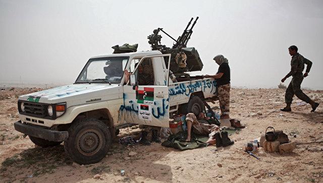 Армия Ливии попросила оружие у русских властей
