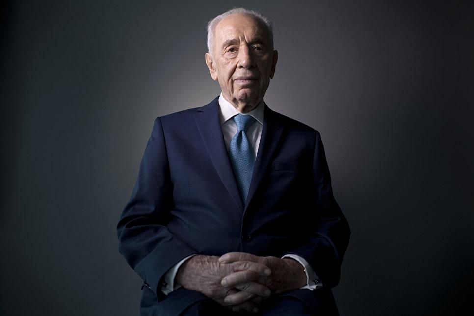 Израильский политик и государственный деятель Шимон Перес