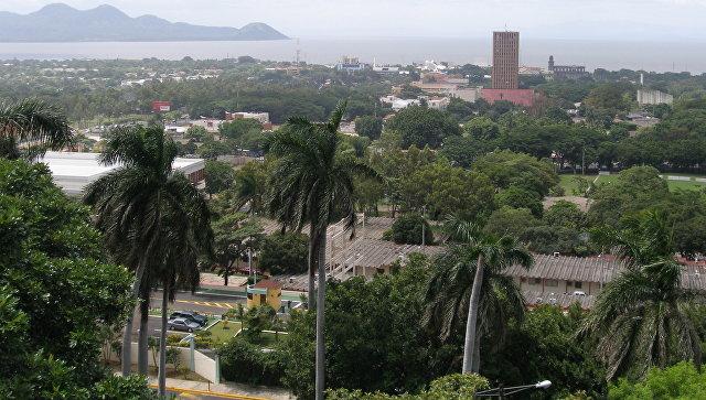 Землетрясение, магнитуда которого составила 5,1, произошло сегодня вНикарагуа