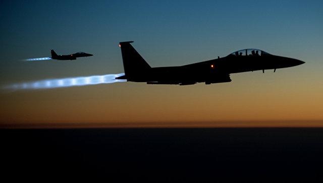 Истребители F-15 ВВС США. Архивное фото