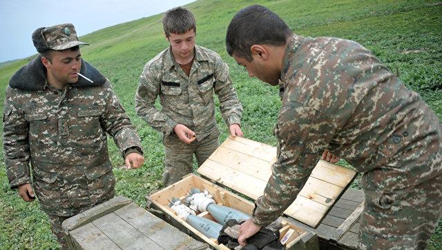 Минобороны Арцаха: ВСАзербайджана произвели внаправлении армянских позиций свыше 330 выстрелов