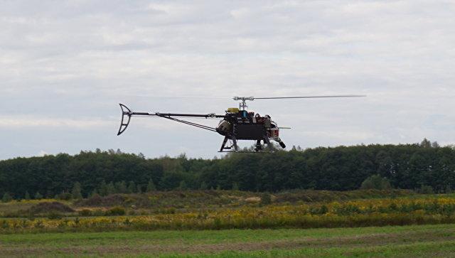 Экологически чистый беспилотник-вертолет, созданный в России