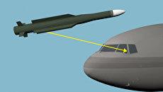 Фрагмент презентации, подготовленной JIT по материалам расследования крушения самолета МН17 Малайзийских авиалиний на востоке Украины