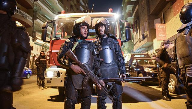 Египетские полицейские. Архивное фото