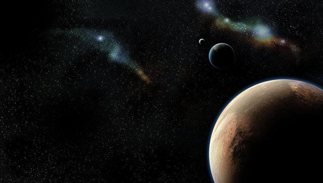Открытый космос. Архивное фото