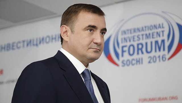 Губернатор Тульской области  Алексей Дюмин. Архивное фото