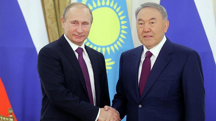 Путин: решение Назарбаева провести День Победы в Москве будет укреплять взаимное доверие