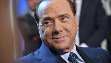 Итальянский государственный и политический деятель Сильвио Берлускони. 2014 год. Архивное фото