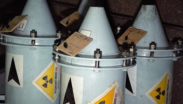 Контейнеры с ядерным топливом, архивное фото