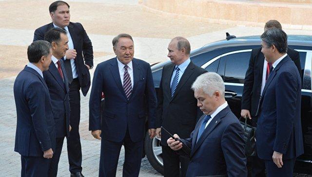 ВКазахстане состоится встреча В. Путина иНурсултана Назарбаева