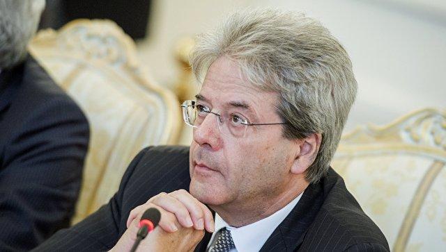Встреча глав МИД РФ и Италии С. Лаврова с П.Джентилони. Архивное фото