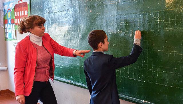 Учитель начальных классов. Архивное фото