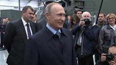 Лучшие кадры с Владимиром Путиным за год в честь дня рождения президента