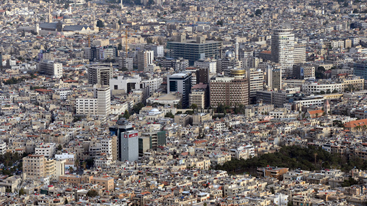 Вид на Дамаск. Архивное фото