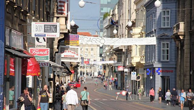 Загреб. Архивное фото