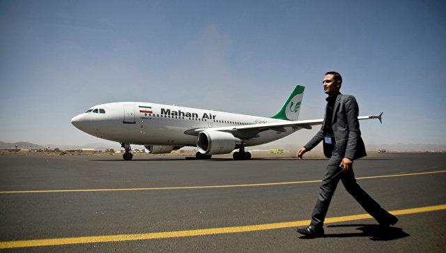 Самолет авиакомпании Mahan Air. Архивное фото