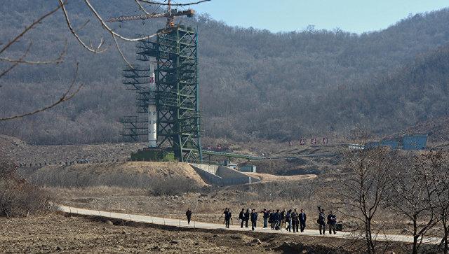 Космодром Сохэ в КНДР