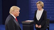 Дональд Трамп и Хиллари Клинтон. Архивное фото