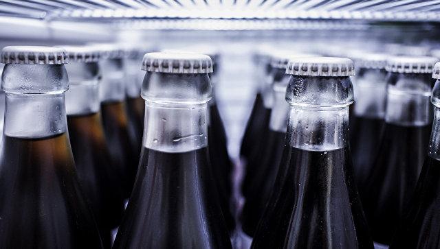 Газированная вода в холодильнике