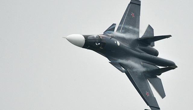 Истребитель СУ-34. Архив