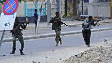 Сотрудники служб безопасности Сомали. Архивное фото