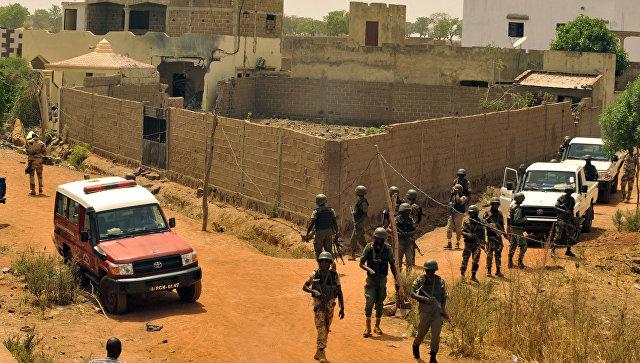 Сотрудники полиции Мали в Бамако. Архивное фото