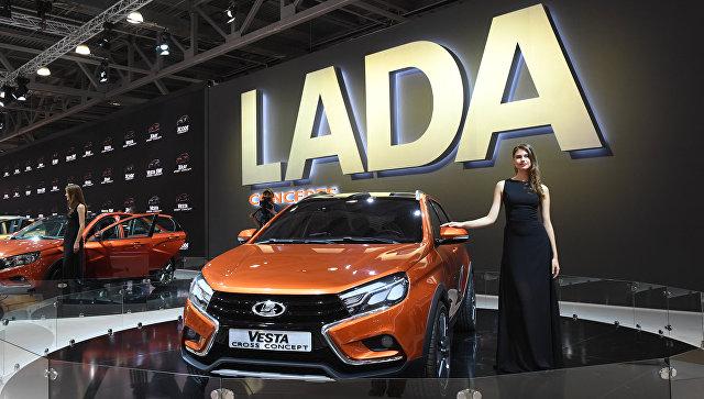 Автомобиль LADA Vesta. Архивное фото