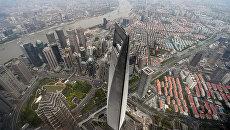 Всемирный финансовый центр в Шанхае. Архивное фото
