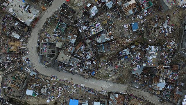 Пан ГиМун прибыл наГаити для оценки ущерба отурагана Мэттью
