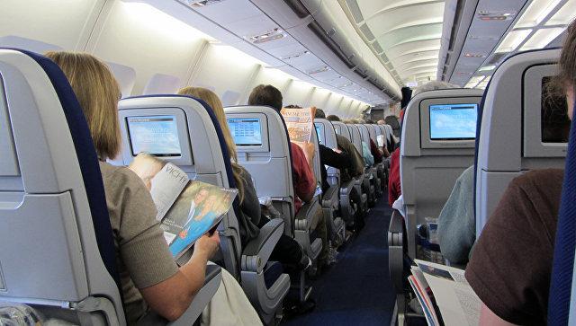 Салон самолета. Архивное фото