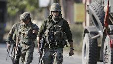 Индийские военные в штате Джамму и Кашмир. Архивное фото