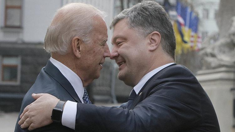 Байден пообещал Порошенко новые гарантии от США на миллиард долларов