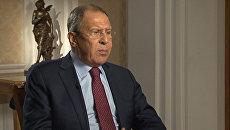 Лавров ответил каламбуром на вопрос о президентской гонке в США