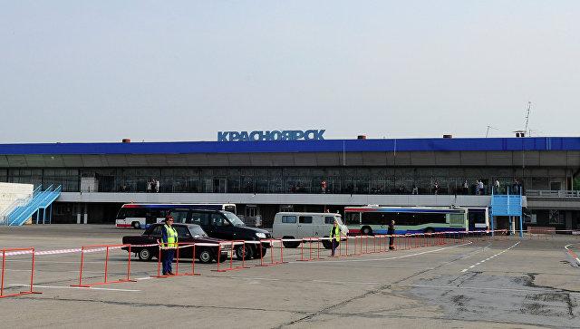 Настройке терминала вкрасноярском аэропорту разбился рабочий