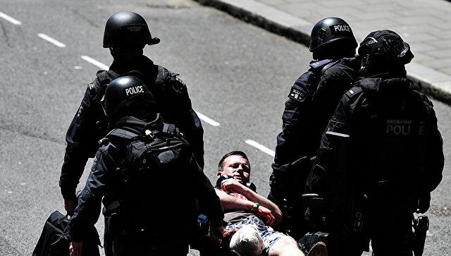 Британская полиция проводит антитеррористические учения. Архивное фото