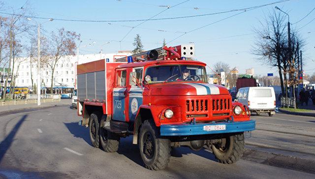 Пожар на«Нафтане» устранили новополоцкие cотрудники экстренных служб
