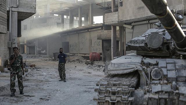 Ситуация в Сирии, архивное фото