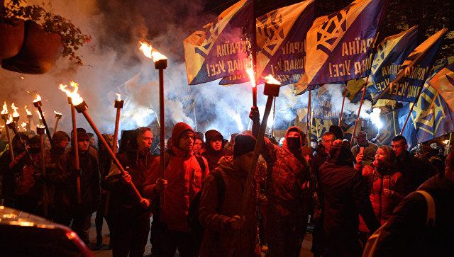 Нарушений впроцессе празднования Дня защитника небыло— Украинская милиция