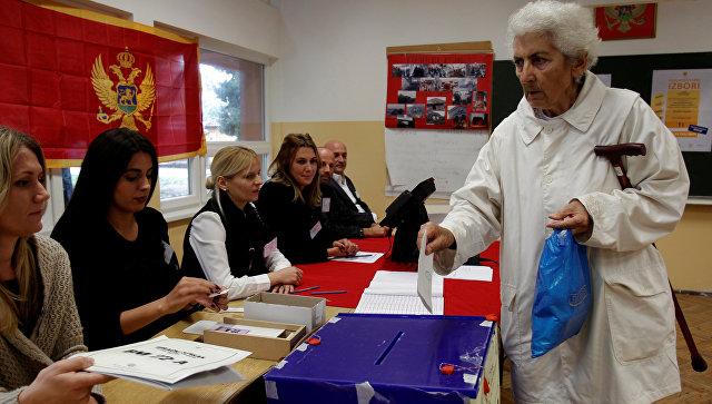 ВЧерногории подсчитывают голоса напарламентских выборах