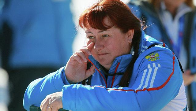 Президент Федерации лыжных гонок России Елена Вяльбе. Архивное фото