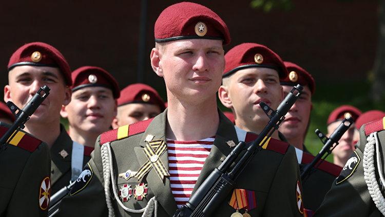 Военнослужащие Федеральной службы войск национальной гвардии Российской Федерации. Архивное фото