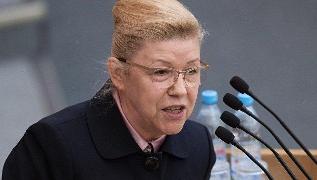 Депутат Елена Мизулина. Архивное фото