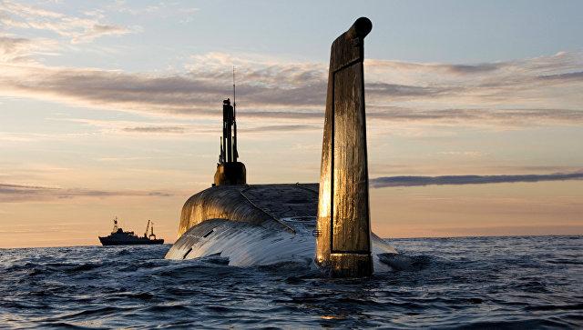 Атомная подводная лодка Юрий Долгорукий. Архивное фото