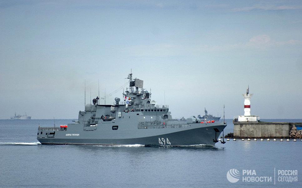 Сторожевой корабль Адмирал Григорович в Севастополе