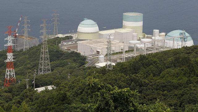 Атомная электростанция в Японии. Архивное фото