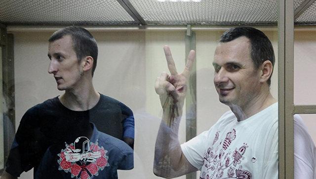 Москва отказала ввыдаче Киеву кинорежиссера Сенцова