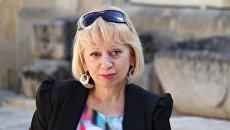 Сотрудница МИА Россия сегодня Элла Таранова. Архивное фото